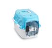 661-417898 Транспортна клетка за куче пластмаса, Размер: L, цвят: светлосин от EBI на ниски цени - купи сега!