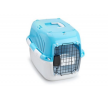 661-417898 Caixa de transporte para cão Plástico, Tamanho: L, Cor: azul claro de EBI a preços baixos - compre agora!