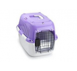 661-417904 Transportines y jaulas para perros para coche Plástico, Tamaño: L, Color: violeta de EBI a precios bajos - ¡compre ahora!