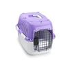 661-417904 Caixa de transporte para cão Plástico, Tamanho: L, Cor: Violeta de EBI a preços baixos - compre agora!