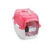 661-417911 Caixa de transporte para cão Plástico, Tamanho: L, Cor: vermelho, cor de laranja de EBI a preços baixos - compre agora!
