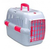 661-428023 Транспортна клетка за куче пластмаса, цвят: бял, розов от EBI на ниски цени - купи сега!