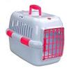 661-428023 Caixa de transporte para cão Plástico, Cor: branco, cor de rosa de EBI a preços baixos - compre agora!