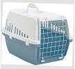 66002400 Transportkasse til hund og Hundebure til bilen Metal, plastik, Farve: blå, grå fra SAVIC til lave priser - køb nu!