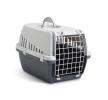66002023 Caisse de transport pour chien Métal, Matière plastique, Couleur: gris SAVIC à petits prix à acheter dès maintenant !