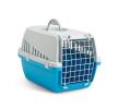 66002024 Caisse de transport pour chien Métal, Matière plastique, Couleur: bleu clair SAVIC à petits prix à acheter dès maintenant !