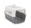 66002128 Caisse de transport pour chien Métal, Matière plastique, Couleur: gris SAVIC à petits prix à acheter dès maintenant !