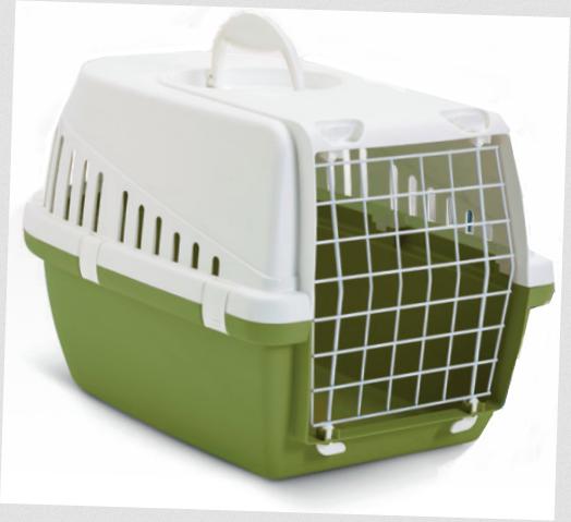 66002401 SAVIC Trotter 1 Kunststoff, Metall, Farbe: hellgrün Länge: 49cm, Breite: 30cm, Höhe: 33cm Hundetransportbox 66002401 günstig kaufen