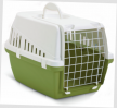 66002401 Caixa de transporte para cão Metal, Plástico, Cor: verde claro de SAVIC a preços baixos - compre agora!