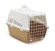 66002154 Caixa de transporte para cão Metal, Plástico, Cor: castanho claro de SAVIC a preços baixos - compre agora!