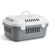 66002022 Транспортни кутии и кетки за кучета за кола пластмаса, цвят: сив от SAVIC на ниски цени - купи сега!