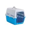66002028 Transportkasse til hund Metal, plastik, Farve: lysblå fra SAVIC til lave priser - køb nu!