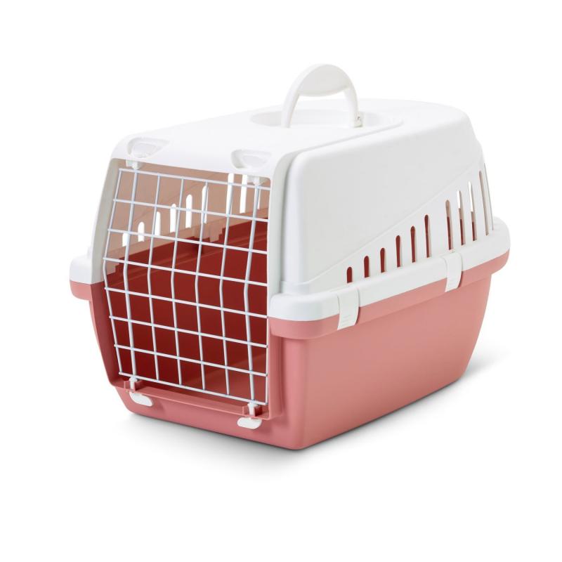 66002155 SAVIC Trotter 1 Kunststoff, Metall, Farbe: rosa Länge: 49cm, Breite: 30cm, Höhe: 33cm Hundetransportbox 66002155 günstig kaufen