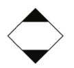 9000030-LQ Witte plusguide ADR знаци - купи онлайн