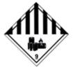 9000030-9A Witte plusguide ADR знаци - купи онлайн