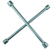 02102L Ключ за джанти кръстат размер на гайч.ключ: 13/16, 17, 19, 22 от SW-Stahl на ниски цени - купи сега!