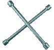 02102L Kryžminis raktas veržliarakčio dydis: 13/16, 17, 19, 22 iš SW-Stahl žemomis kainomis - įsigykite dabar!
