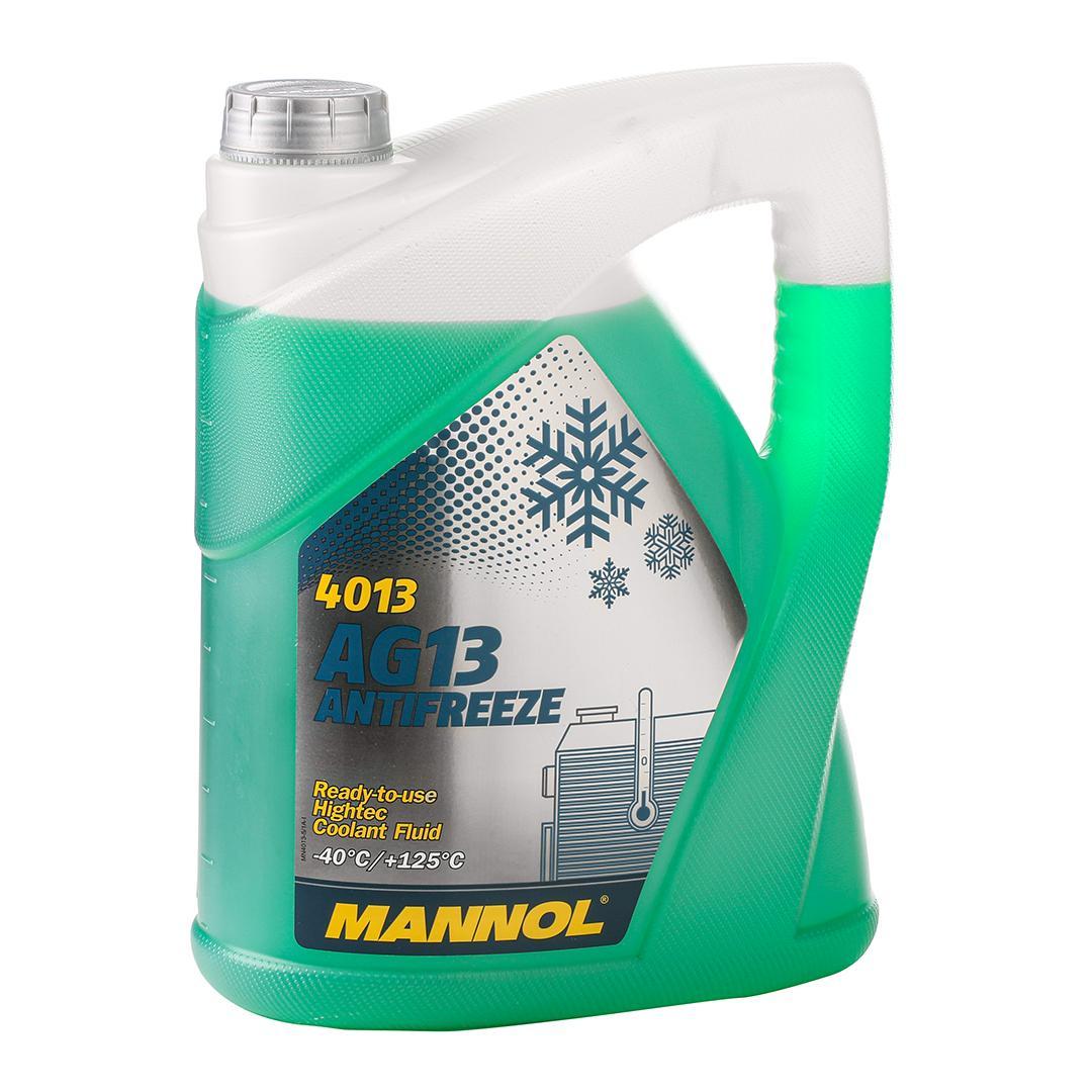 MN4013-5 MANNOL AG13 Hightec G11 grün, 5l G11, Temperaturbereich von: -40°C Frostschutz MN4013-5 günstig kaufen
