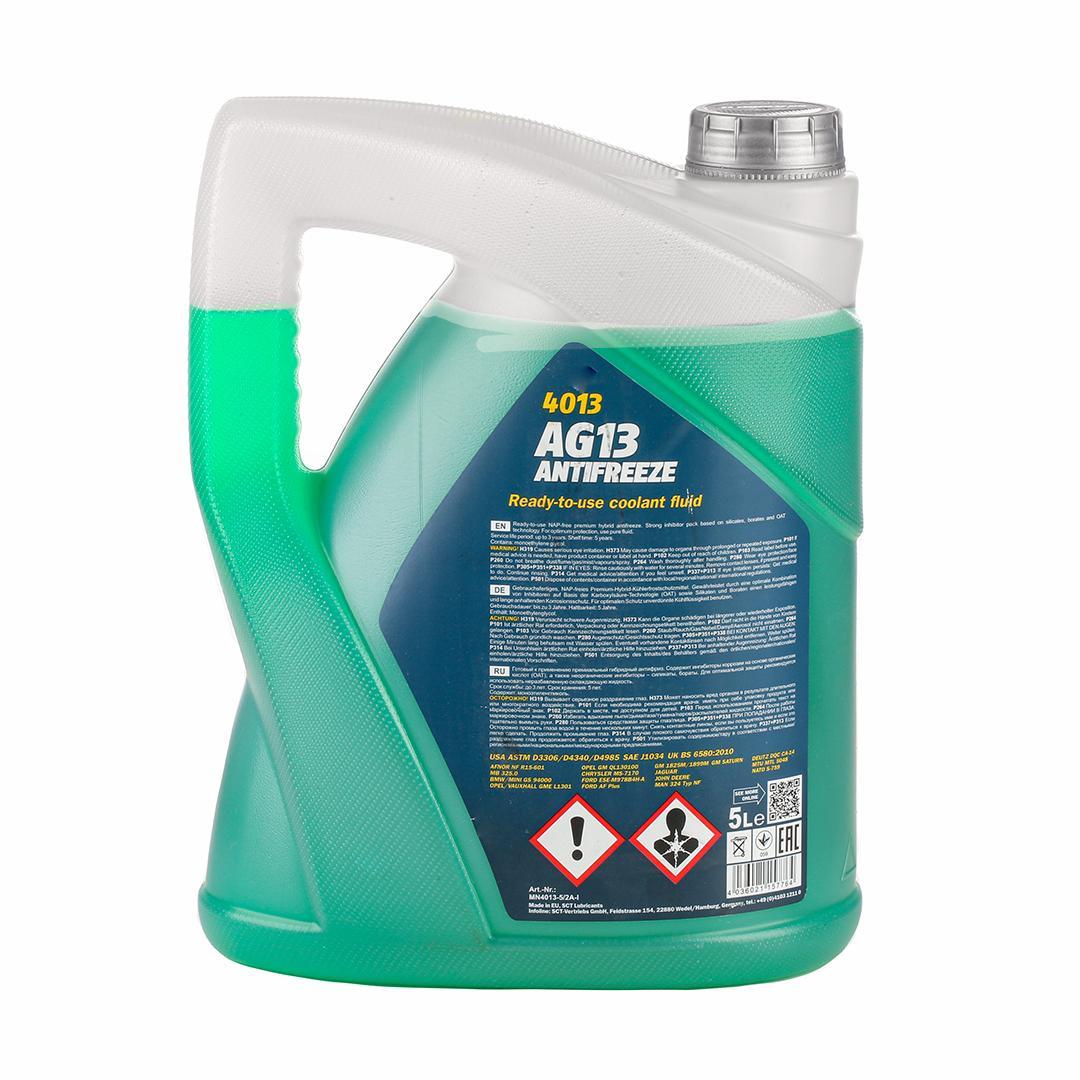 MN4013-5 Kühlerfrostschutzmittel MANNOL - Markenprodukte billig