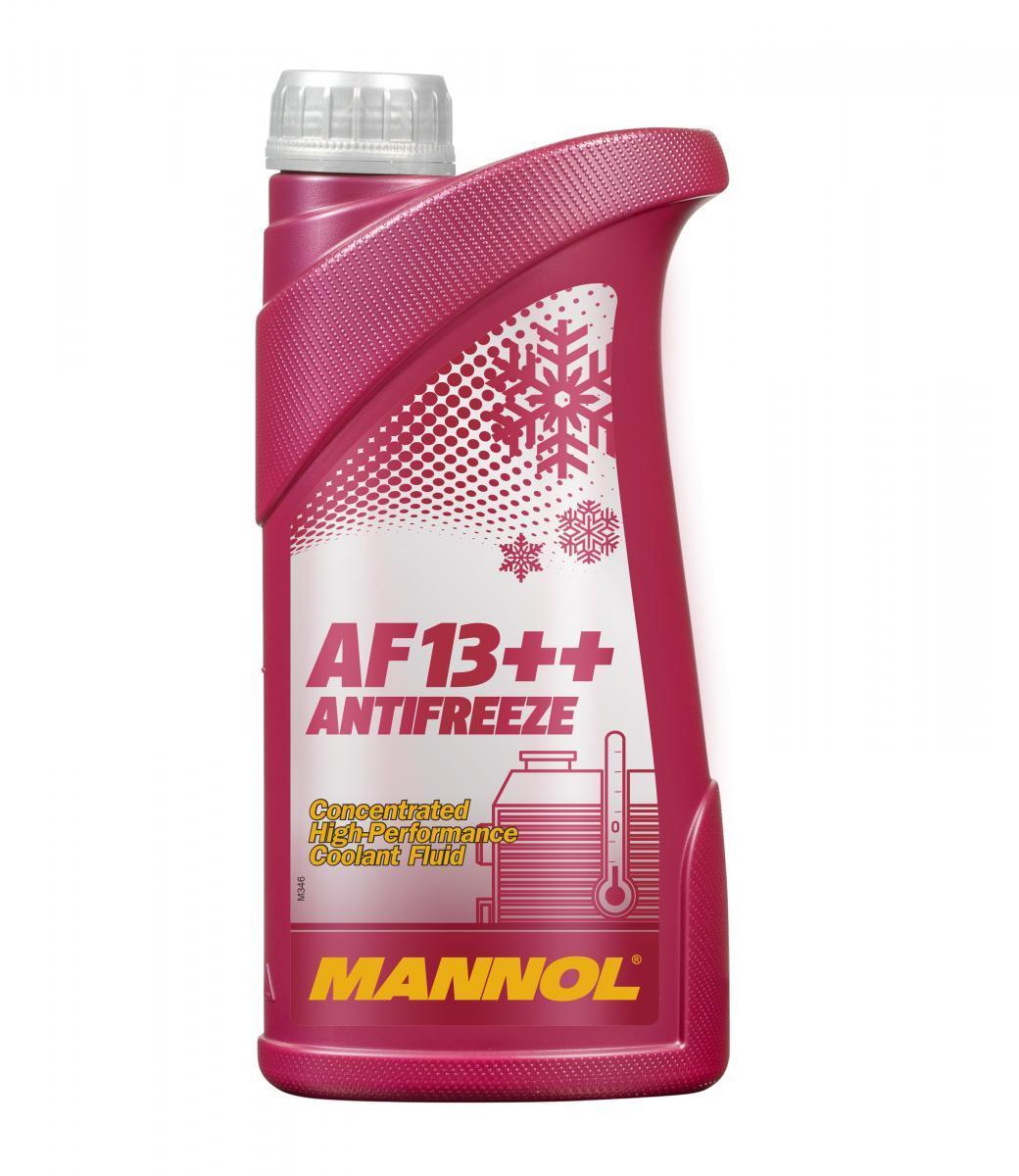 MN4115-1 MANNOL AF13++, High-performance G12 rot, 1l, -38(50/50) G12 Frostschutz MN4115-1 günstig kaufen