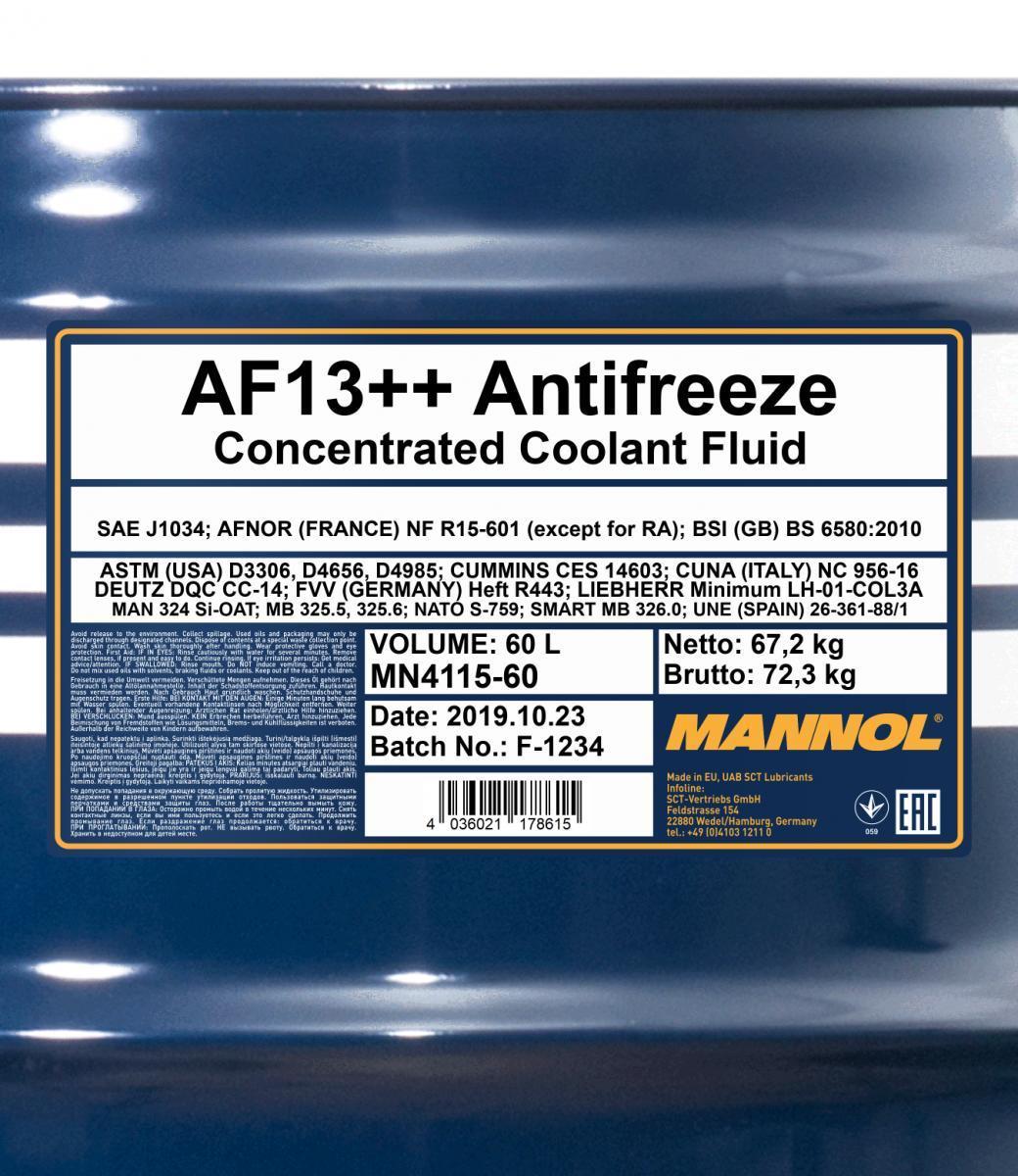 MANNOL   Frostschutz MN4115-60