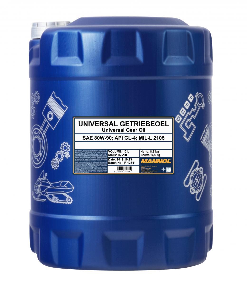 Getriebeöl MANNOL MN8107-10 mit 27% Rabatt kaufen