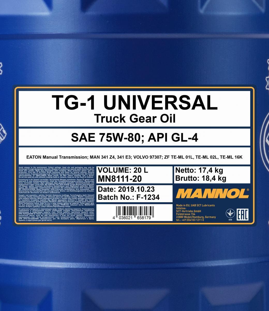 MN8111-20 MANNOL günstig