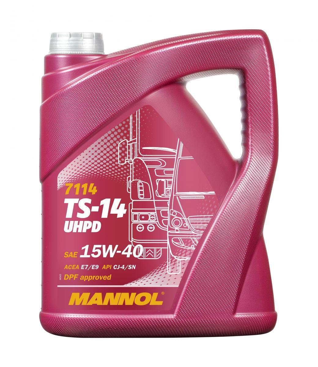 MN7114-5 MANNOL TS-14, UHPD 15W-40, 5l Motoröl MN7114-5 günstig kaufen