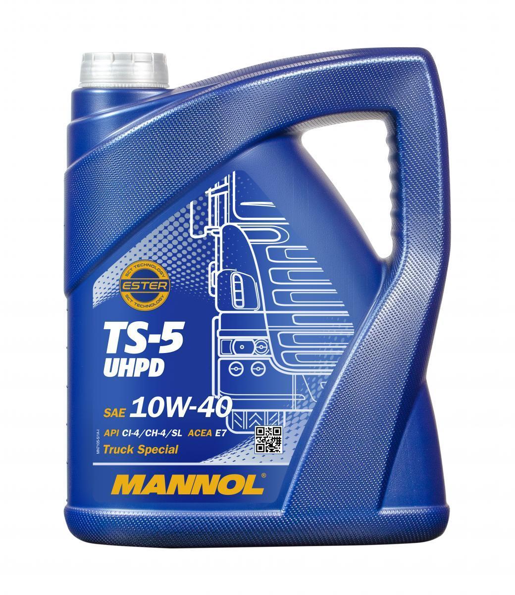 MN7105-5 MANNOL TS-5, UHPD 10W-40, 5l Motoröl MN7105-5 günstig kaufen