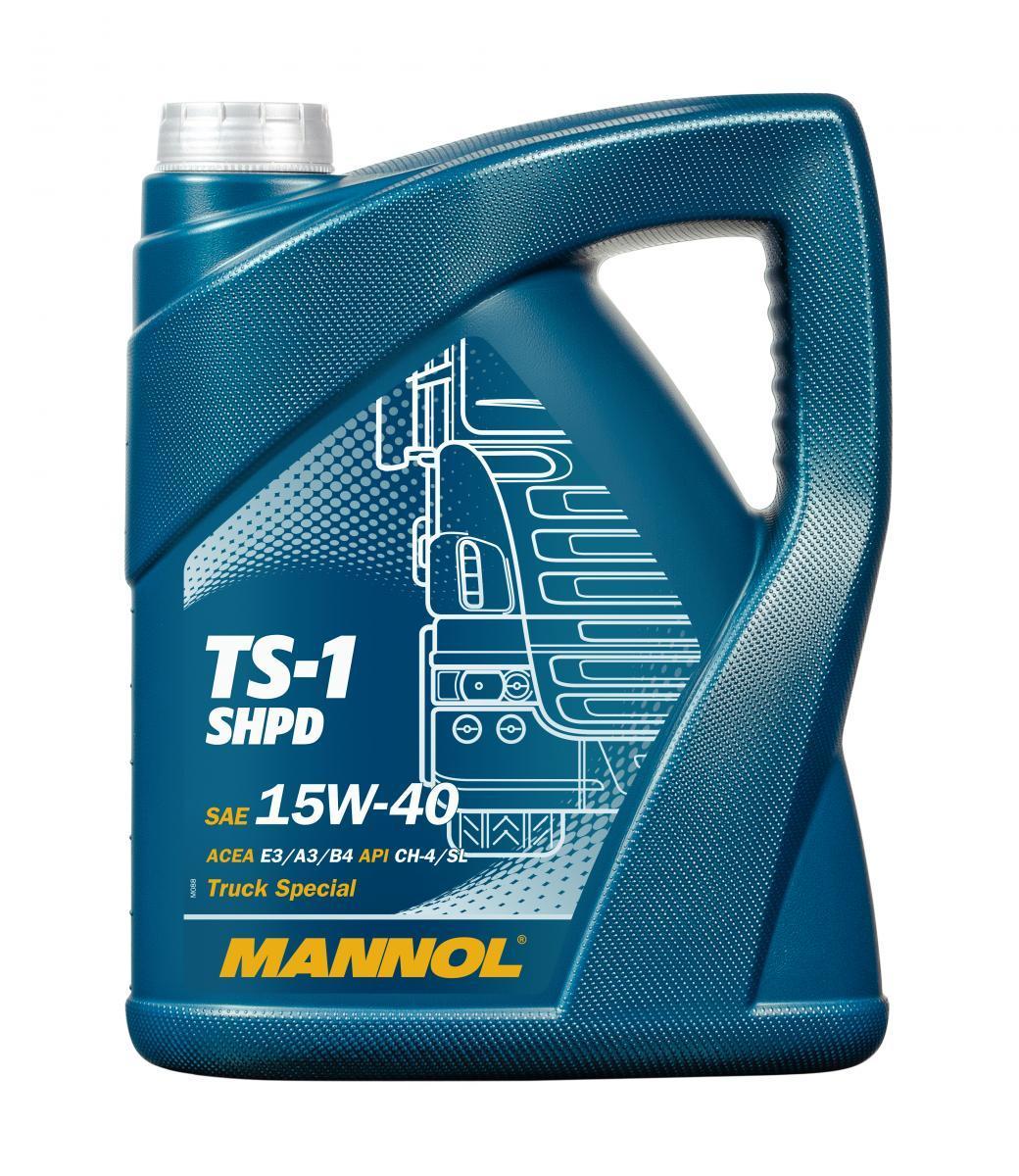 MN7101-5 MANNOL TS-1, SHPD 15W-40, 5l, Mineralöl Motoröl MN7101-5 günstig kaufen