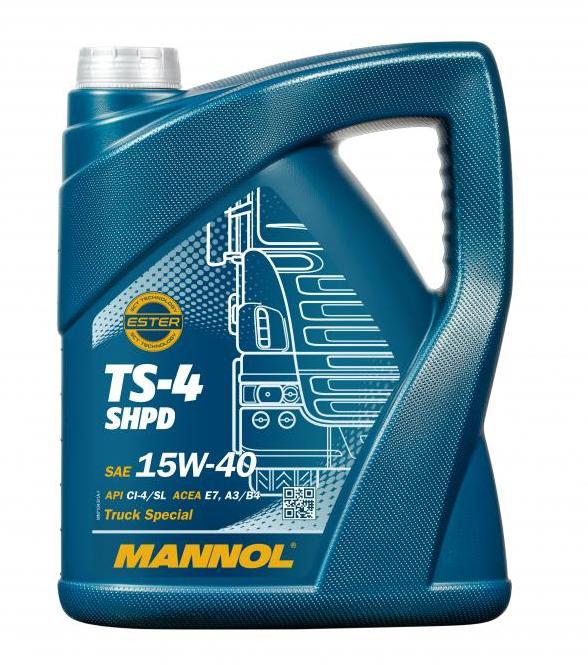 MN7104-5 MANNOL TS-4, SHPD 15W-40, 5l Motoröl MN7104-5 günstig kaufen