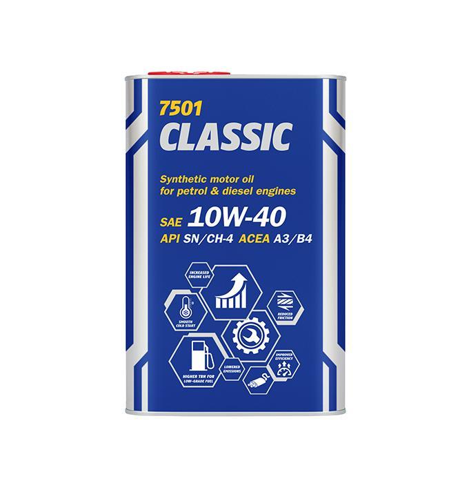 MN7501-1ME MANNOL CLASSIC 10W-40, 10W-40, 1l, Teilsynthetiköl Motoröl MN7501-1ME günstig kaufen