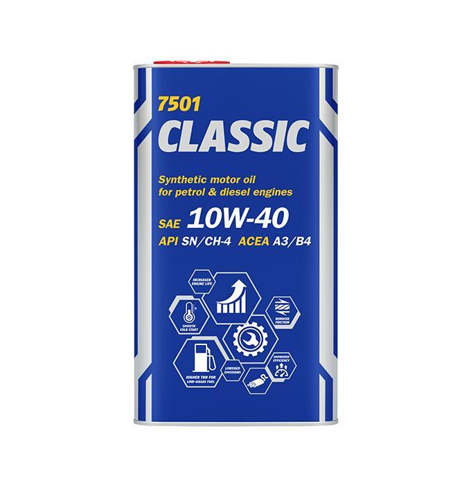 MN7501-4ME MANNOL CLASSIC 10W-40, 4l, Teilsynthetiköl Motoröl MN7501-4ME günstig kaufen