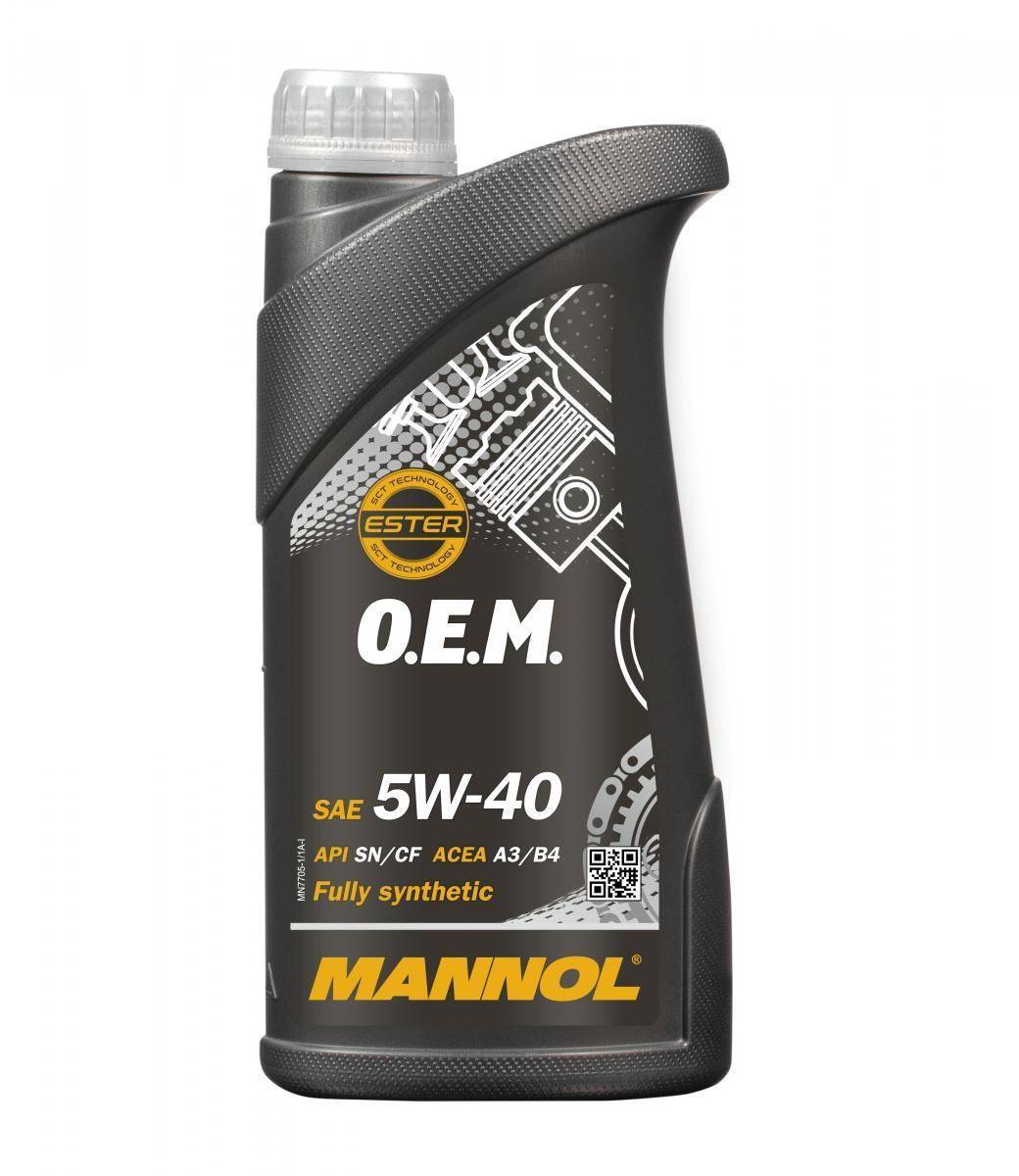 MANNOL Motoröl MN7705-1