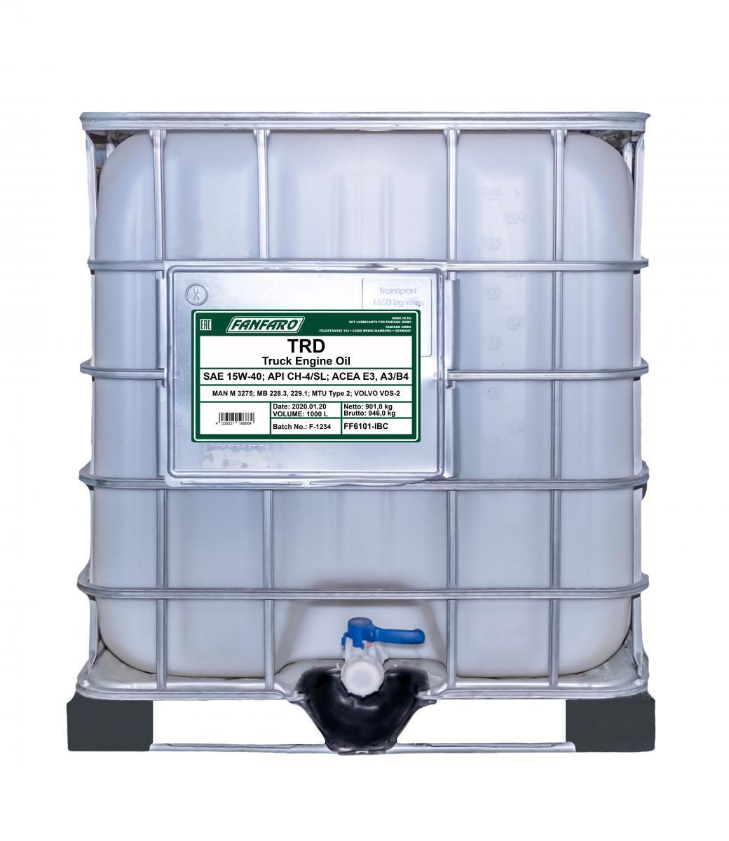 FF6101-IBC FANFARO SHPD, TRD 15W-40, 1000l, Mineralöl Motoröl FF6101-IBC günstig kaufen