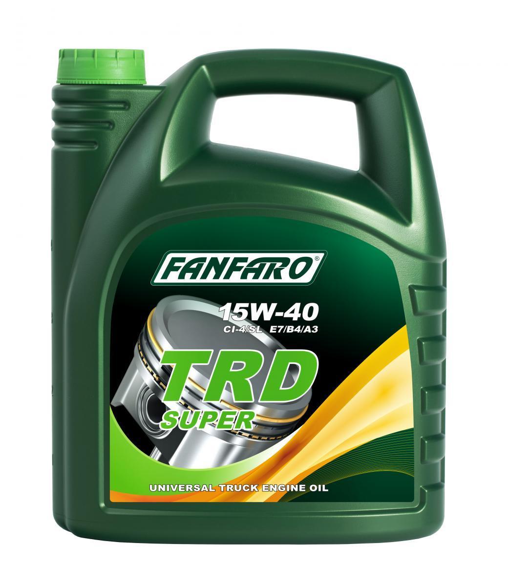 FF6104-5 FANFARO SHPD, TRD Super 15W-40, 5l Motoröl FF6104-5 günstig kaufen