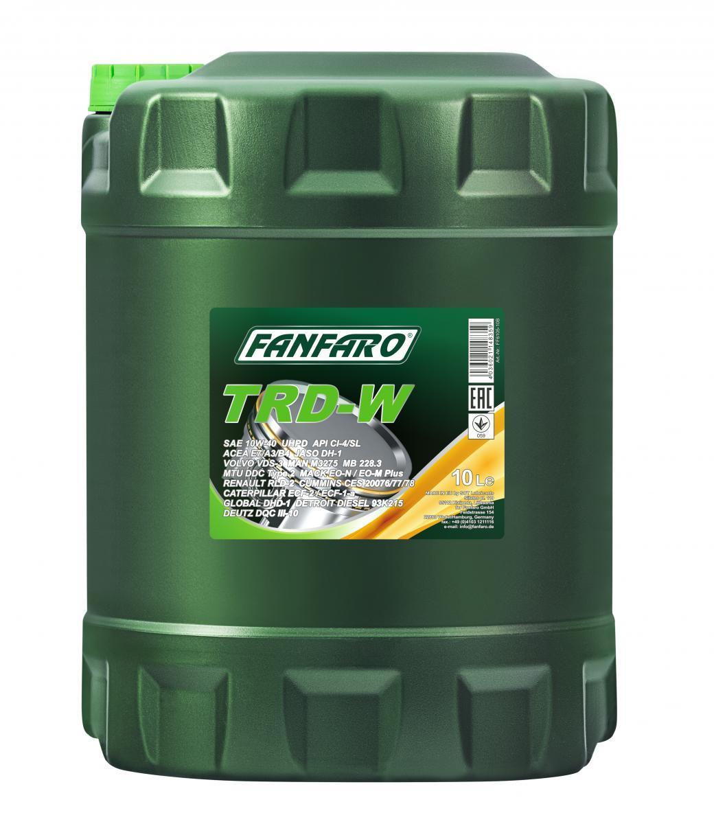 FF6105-10 FANFARO UHPD, TRD-W 10W-40, 10l, Synthetiköl Motoröl FF6105-10 günstig kaufen