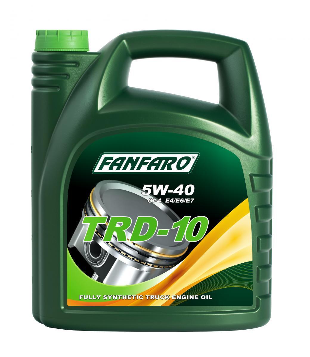 FF6110-5 FANFARO UHPD, TRD-10 5W-40, 5l, Synthetiköl Motoröl FF6110-5 günstig kaufen