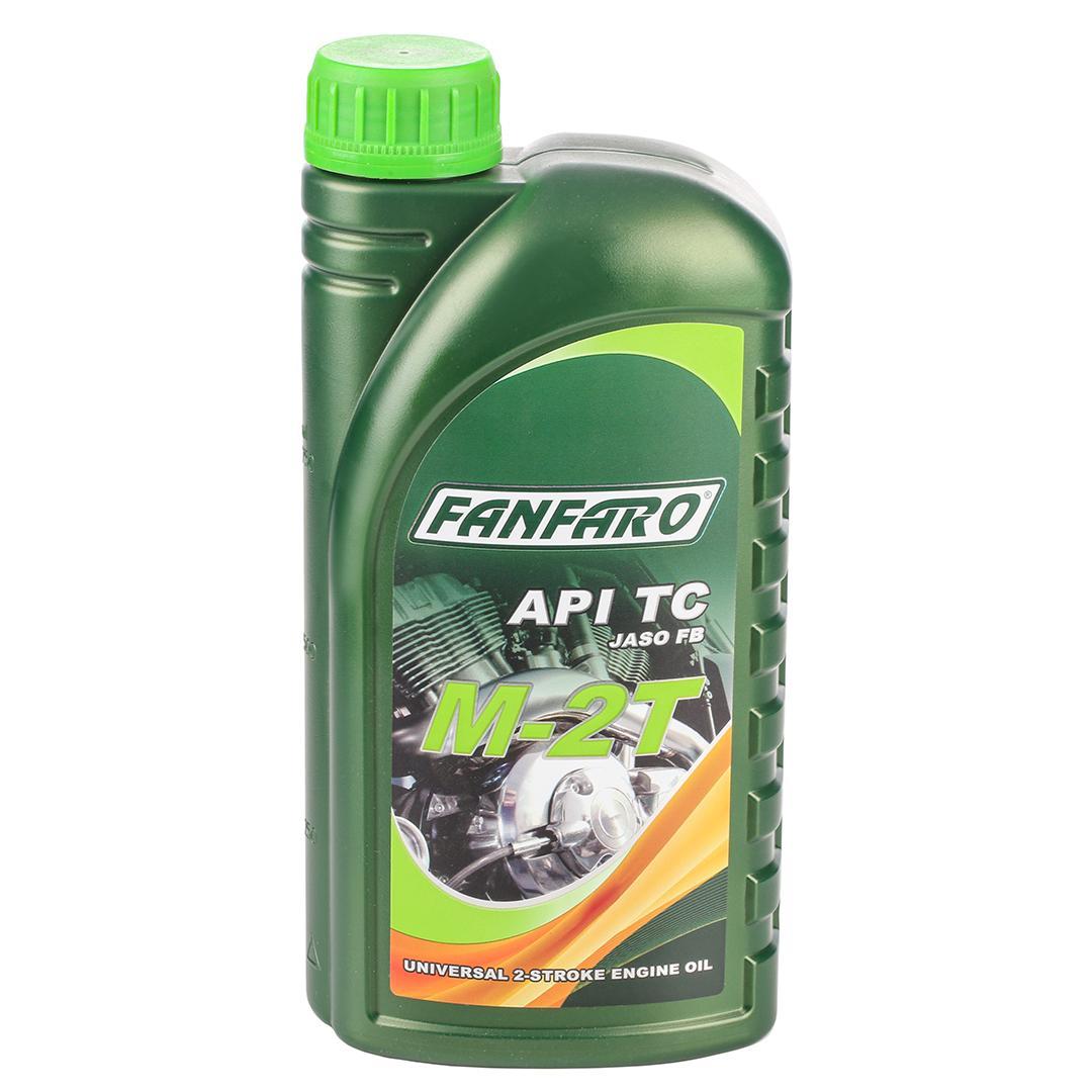 FANFARO M-2T Olej silnikowy 1l, Olej mineralny FF6202-1 SIMSON
