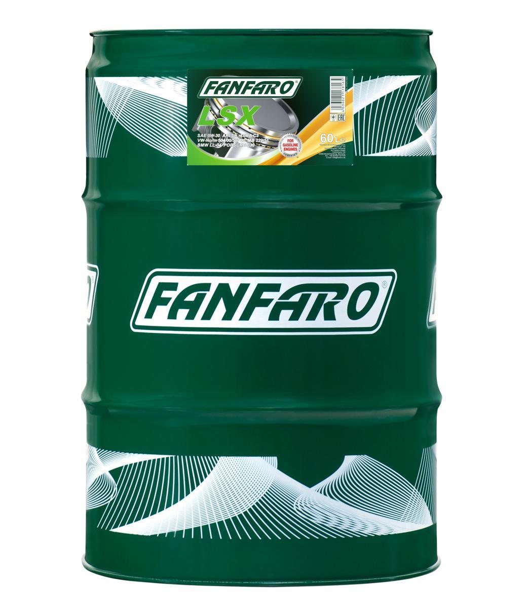 FF6701-60 FANFARO Expert Line, LSX 5W-30, 60l Motoröl FF6701-60 günstig kaufen