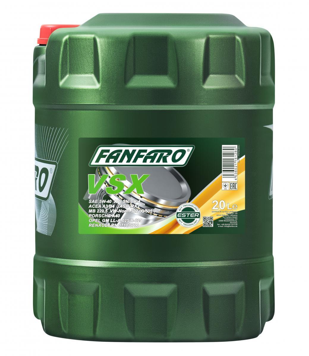 Motoröl FANFARO FF6702-20