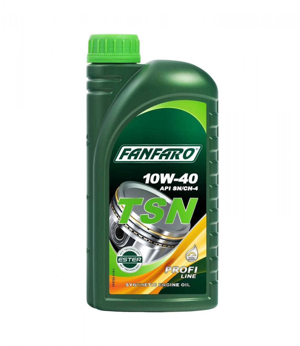 FF6704-1 FANFARO Profi Line, TSN 10W-40, 1l, Synthetiköl Motoröl FF6704-1 günstig kaufen