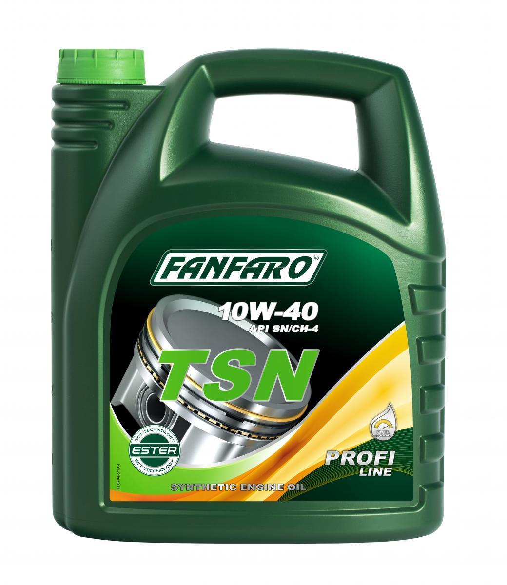 FF6704-5 FANFARO Profi Line, TSN 10W-40, 5l, Synthetiköl Motoröl FF6704-5 günstig kaufen
