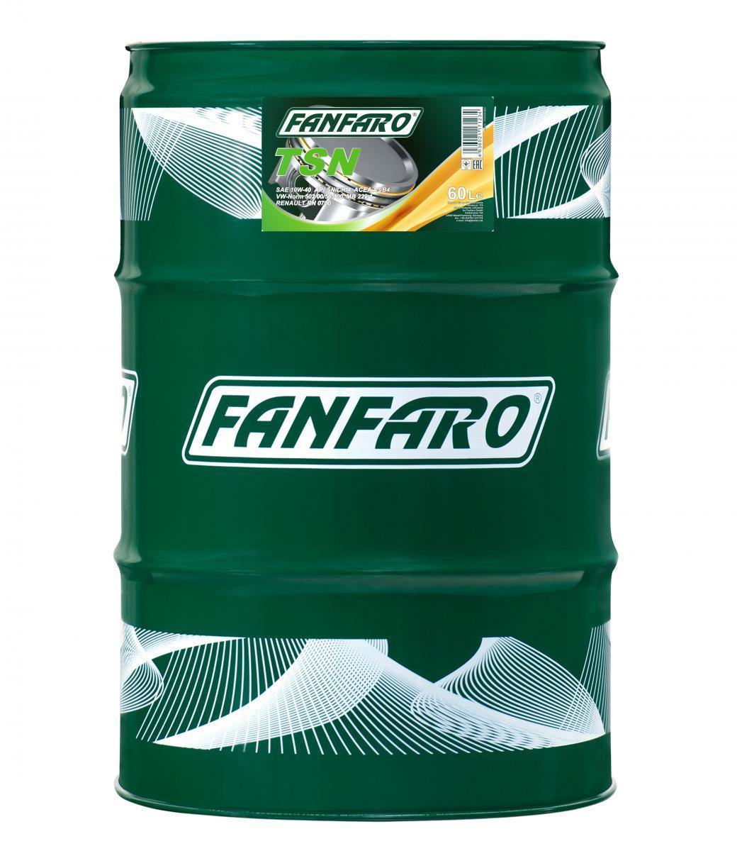 FF6704-60 FANFARO Profi Line, TSN 10W-40, 60l, Synthetiköl Motoröl FF6704-60 günstig kaufen