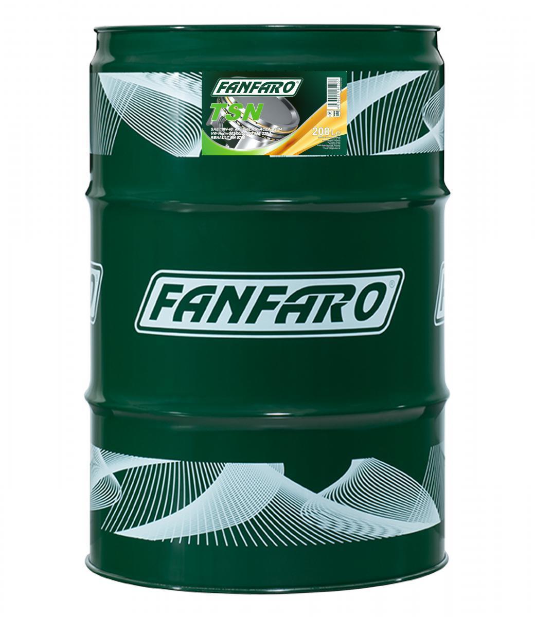 FF6704-DR FANFARO Profi Line, TSN 10W-40, 208l, Synthetiköl Motoröl FF6704-DR günstig kaufen