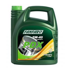 FF6705-5 FANFARO Profi Line, PDX 5W-40, 5l, Synthetiköl Motoröl FF6705-5 günstig kaufen