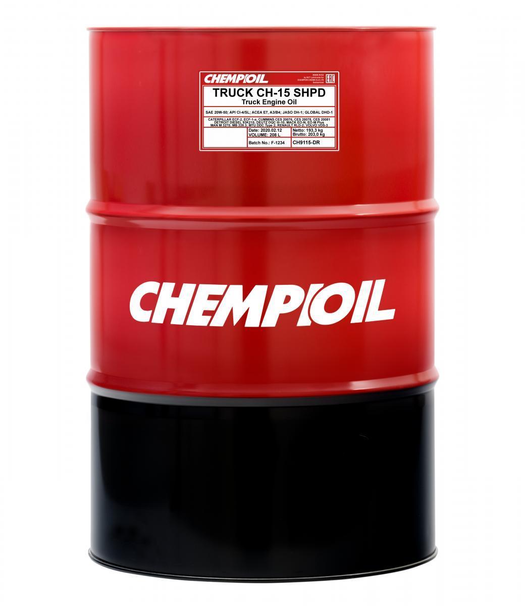 CH9115-DR CHEMPIOIL TRUCK, CH-15 SHPD 20W-50, 208l Motoröl CH9115-DR günstig kaufen