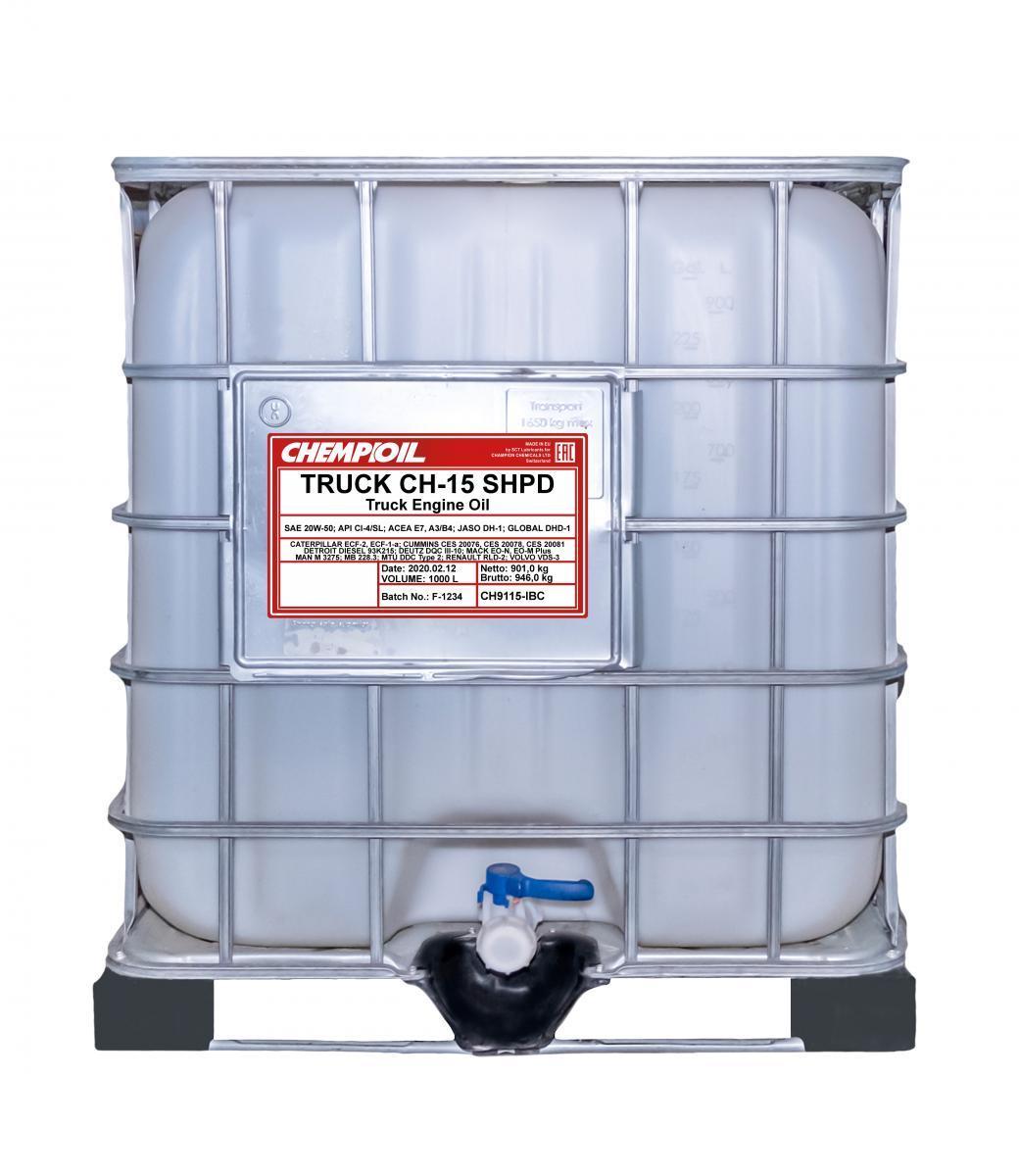 CH9115-IBC CHEMPIOIL Motoröl für DAF online bestellen