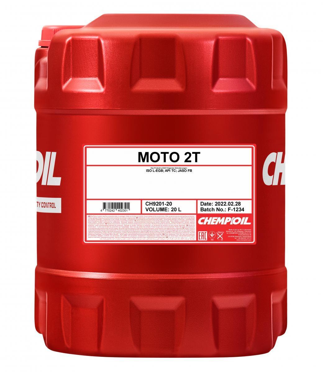 CHEMPIOIL MOTO, 2T Motorolja 20l CH9201-20 VESPA