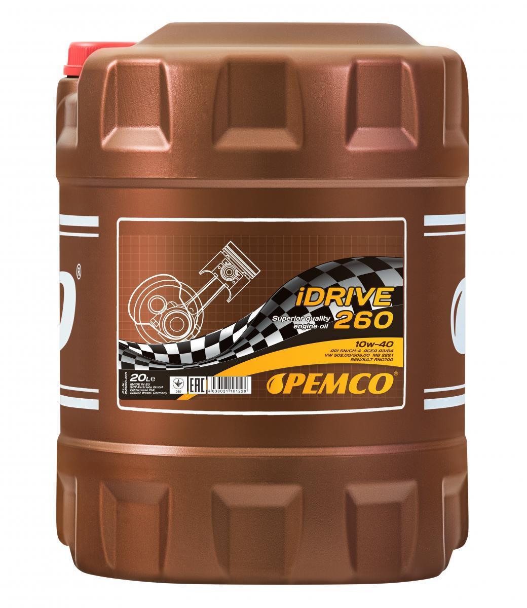 Motoröl PEMCO PM0260-20